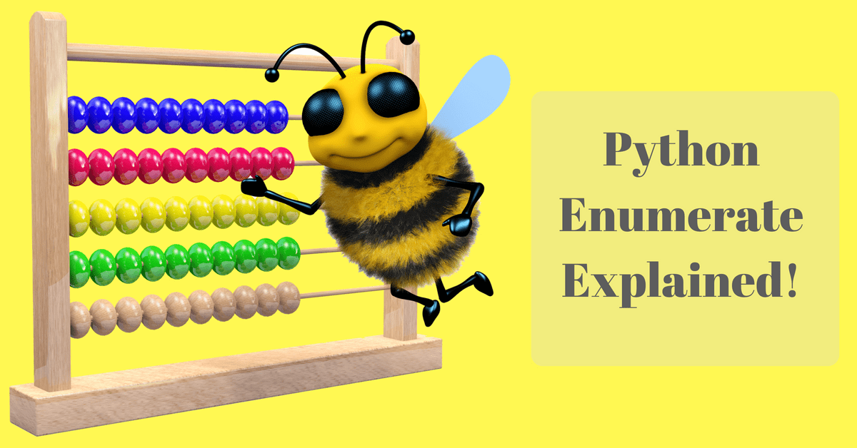 python-enumerate